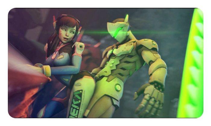 [Overwatch] キャラクターがエロすぎてプレイに集中できないwww Part4 [3DCG,SFM] (10)
