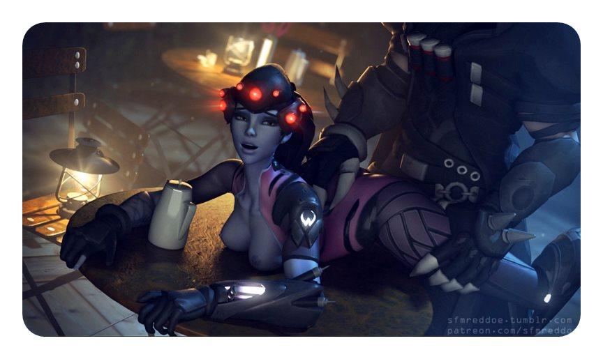 [Overwatch] キャラクターがエロすぎてプレイに集中できないwww Part5 [3DCG,SFM] (10)