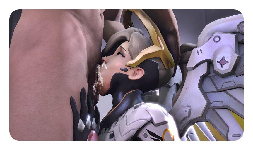 [Overwatch] キャラクターがエロすぎてプレイに集中できないwww Part6 [3DCG,SFM] (47)