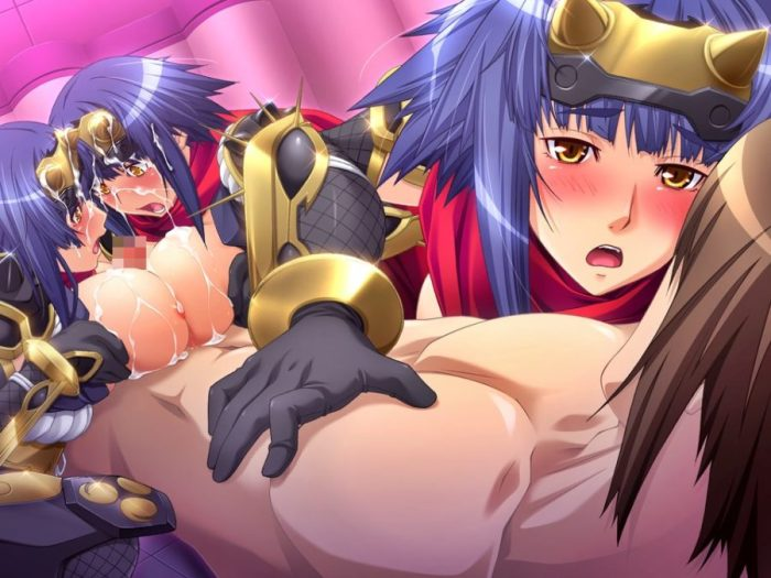 [HCG,ルネ] 悪の女幹部の弱みを握って性的なオシオキ!Part4 [悪の女幹部フルムーンナイト] (5)