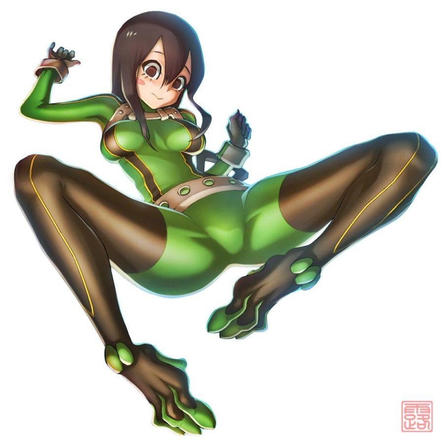 [僕のヒーローアカデミア] 蛙吹梅雨ちゃん ケロケロ可愛いエロ画像 03 (11)