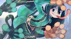 [僕のヒーローアカデミア] 蛙吹梅雨ちゃん ケロケロ可愛いエロ画像 04 (42)