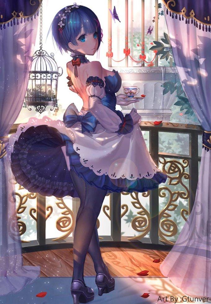 [Re:ゼロから始める異世界生活] 鬼かわいい レム エロ画像 02 (31)