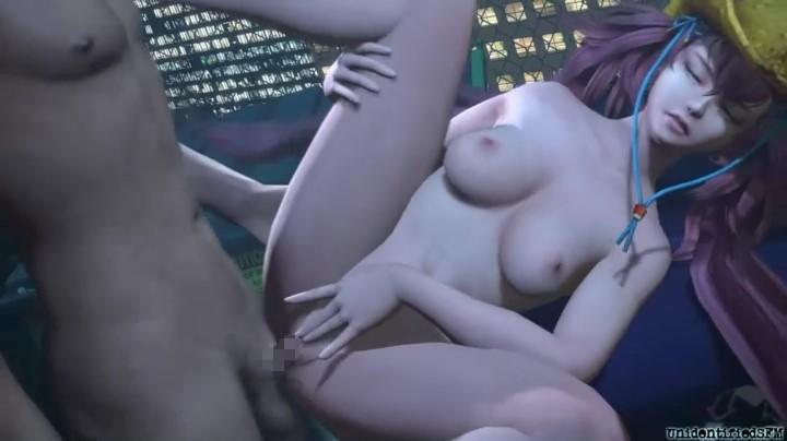 [3DCG] お姉チャンバラ エロ画像 (29)