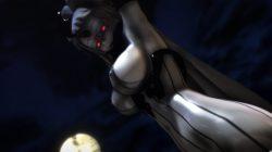 【MMD-R18,港湾棲姫】 港湾棲姫がディルドでオナニー→騎乗位でSEXするGIF・画像 (12)