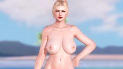 [DOA,3DCG] エロMODで全裸になったレイチェルのイメージビデオ (13)