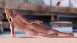 [DOA,3DCG] エロMODで全裸になったレイチェルのイメージビデオ (17)