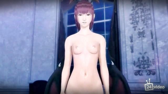 [3DCG,エロ動画] 親しい従姉妹はヴァンパイア?夜な夜な性を搾り取られる! (31)
