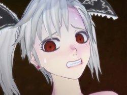 [3DCGアニメ] ゴス娘が大勢のデブ男たちに輪姦され、穴という穴をすべて犯される! (5)