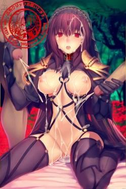 [Fate/Grand Order] スカサハ エロ画像 03 (10)