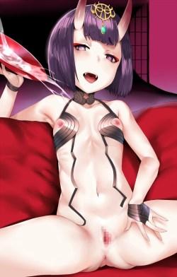 [Fate/Grand Order] 酒呑童子 エロ画像 02 (20)