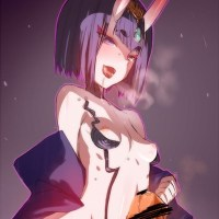 [Fate/Grand Order] 合法ロリ鬼娘の酒呑童子 エロ画像 04