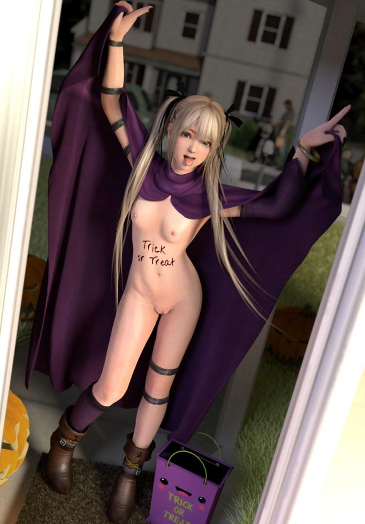 [DOA,3DCG] マリー・ローズちゃんが全裸に剥かれているくっそエロい3DCG (4)