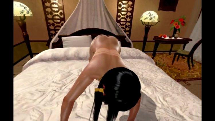 [DOAX3 VR] パラダイス 腕立て伏せの下に入る(VR Paradise push-ups) (51)
