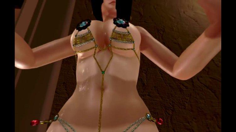 [DOAX3 VR] パラダイス 腕立て伏せの下に入る(VR Paradise push-ups) (61)