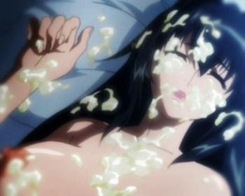 【エロアニメ】寝ている巨乳魔女にパイズリ&ぶっかけ!そのまま調子に乗って孕ませ上等種付けセックスしたったw