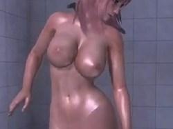 【DOA,エロ動画】ほのかのシャワーシーンを盗撮したよw 【MOD,3DCG】