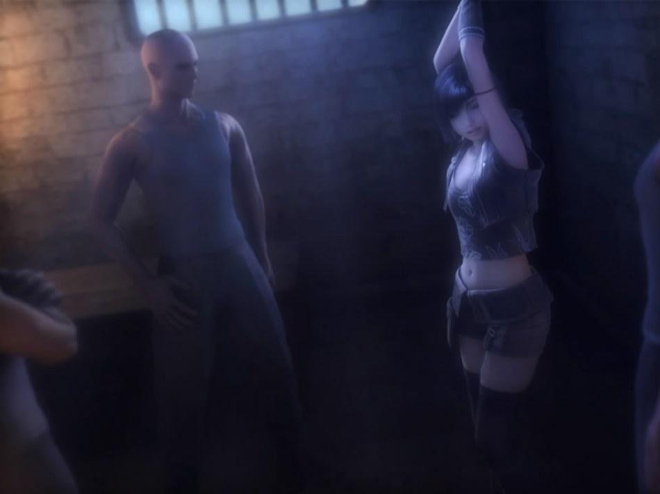 [FF7,エロ動画] ユフィが盗賊団や触手モンスターに襲われる3DCGアニメ (2)