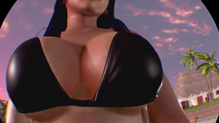 [DOAX3] 女天狗におっパブみたいに跨ってもらう [PS4PRO-PSVR]