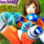 [3DCGアニメ] スライムに負けるクソザコ女勇者wwwスライムに触手で犯されちゃいます!
