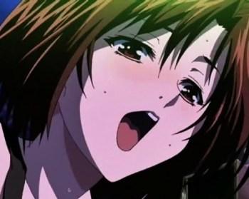 [エロアニメ] カラオケで美人先輩にフェラに素股で誘惑されて、ついに本番…!?