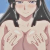 【エロアニメ】爆乳おっぱいを揉みまくり、吸いまくり♪4P百合エロアニメ (魔乳秘剣帖)