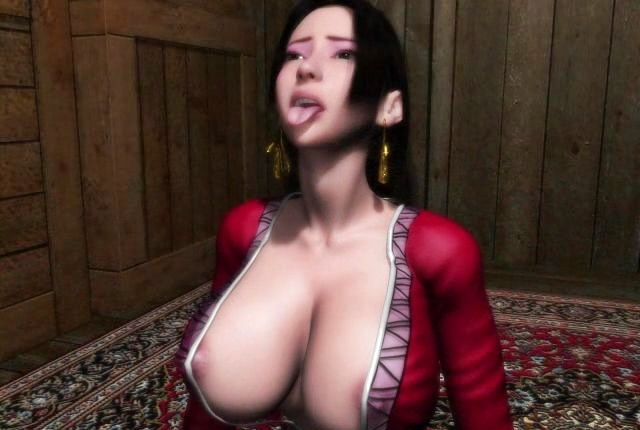 [3DCGアニメ] 敵の手に落ちたボア・ハンコックが拘束レイプ!媚薬効果をもつ精液を大量に中出しされ、淫乱女へと堕ちていく… (ワンピース)