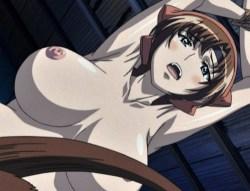 [エロアニメ] 襲ってきたくノ一を返り討ちにして豊満な乳とお〇んこを犯しつくす!