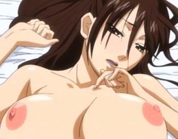 [エロアニメ] 兄が巨乳JK妹を押し倒しレイプ!口では嫌と言いつつも身体はしっかり感じてしまい…