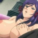 [エロアニメ] 使用人の採用試験で巨乳メイドのオナニーをオカズにシコってぶっかけ!? (STARLESS I)
