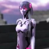 【3DCGアニメ】エロいお尻のアンドロイドに騎乗位でパンパンされて中出し♪