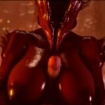 地獄のエロい女悪魔が顔面騎乗位で男どもを逆レイプ!狂気に満ちた地獄のサバイバルホラー『Agony』