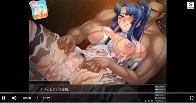 八津 紫 Hシーン (対魔忍アサギ3)