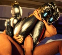 [Warframe] ふたなりエイリアン女忍者と3Pで二穴ファックする3Dエロアニメ (nova)