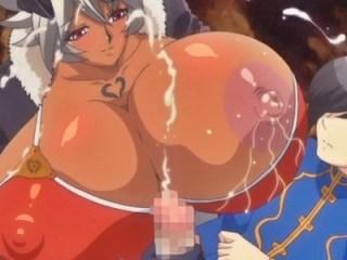 【おねショタ】巨乳姫騎士&褐色女戦士がショタ王子を取り合って身体を使ったご奉仕♪
