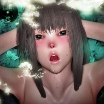 [3Dアニメ] 不思議の国の変態ストーリー始まるよ♪巨乳少女が放尿・産卵アクメ!