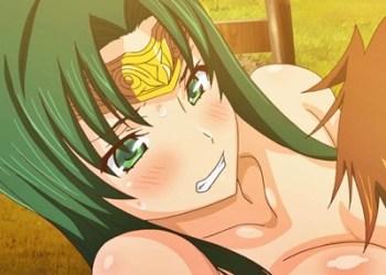 【ランス01】侍女が女王を守る為に鬼畜戦士に身体を差し出し、奉仕セックス!
