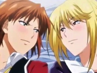 【エロアニメ】美女二人が男のチ〇ポを取り合い騎乗位で腰を振る!処女マンにデカマラぶち込まれ、避妊なしで中出し!