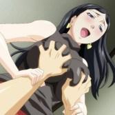 【エロアニメ】恋人が見ている目の前で人妻と浮気セックスする!