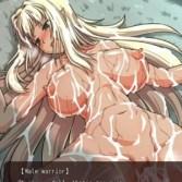 盗賊退治のクエストを受けたダークエルフの女戦士が、戦闘に負けて犯されて処女を奪われる!(ダークエルフのヒストリア)