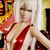 【DOA】マリー・ローズちゃんが食い込みスリングショット水着でセクシーポーズ!