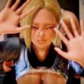【ドラゴンボール】人造人間18号がトイレで亀仙人にバックから挿入されて寝取られセックス!