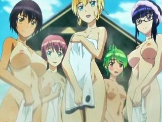 【ふたなり・レズ】ふた部で温泉旅行に行ったら女将さんもフタナリで!?露天風呂で大乱交おっぱじめて白濁温泉の出来上がりwww