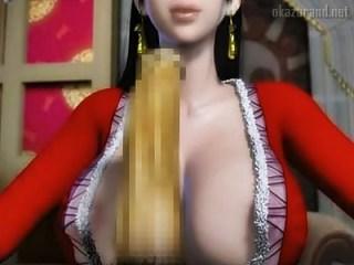 【ワンピース】海楼石に繋がれて無抵抗の蛇姫ハンコックが目の前に!これは犯すしかねぇ!!