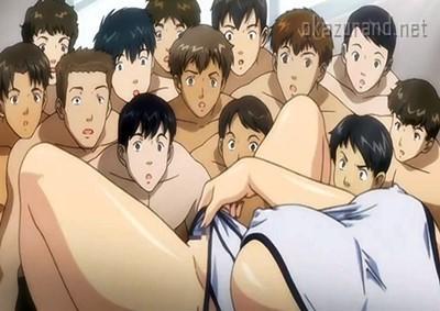 【公開露出】セクシー女教師が水泳の授業で公開ストリップ♪男子生徒たちにオカズを提供します!