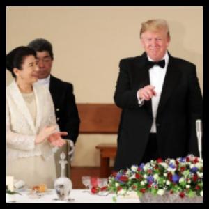 晩餐会での画像