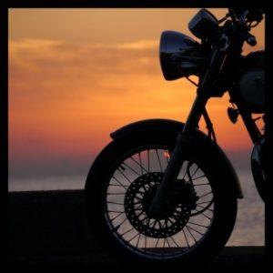 大型バイクの画像