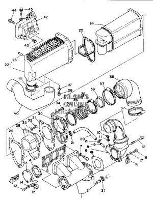 Replacing the starter on Yamaha Waverunner III, 650cc 1992