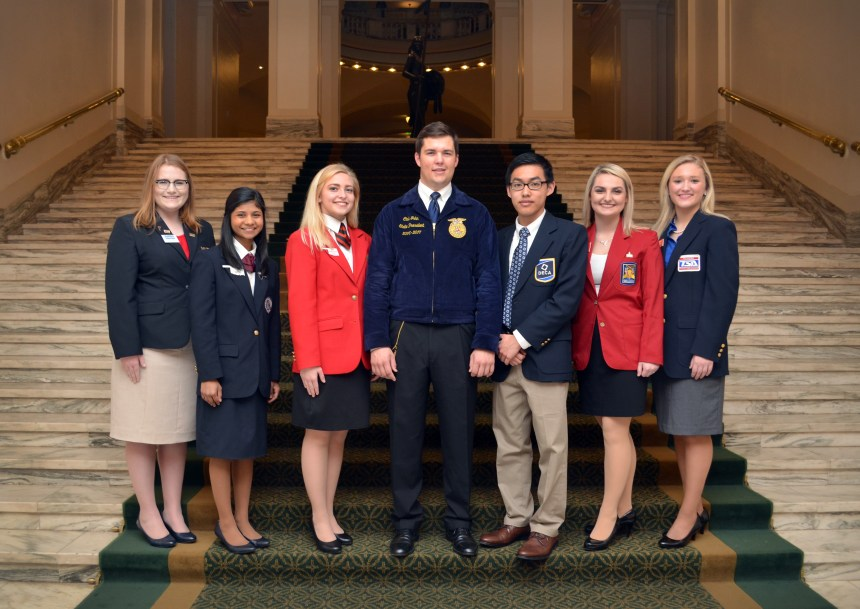 CTSO Day at the Capitol