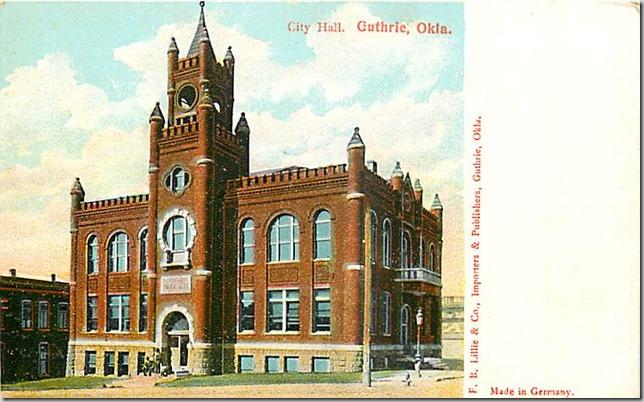 CIty Hall Guthrie OK